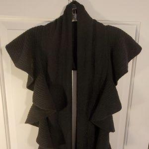 Talbots 100% Cashmere Black Wrap